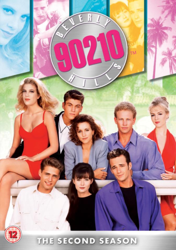 Beverly Hills 90210 Season 2 Repackaged Dvd Zavvi
