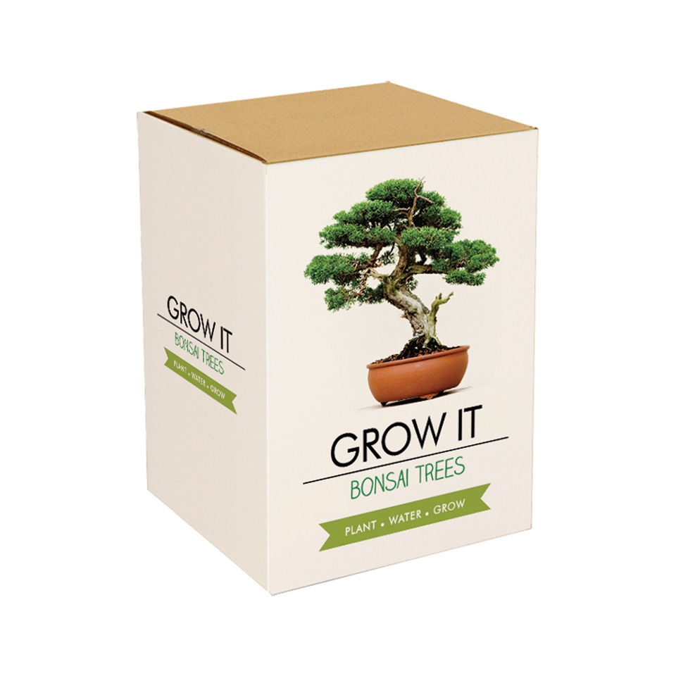 Grow Your Own Bonsai Trees Gift Box