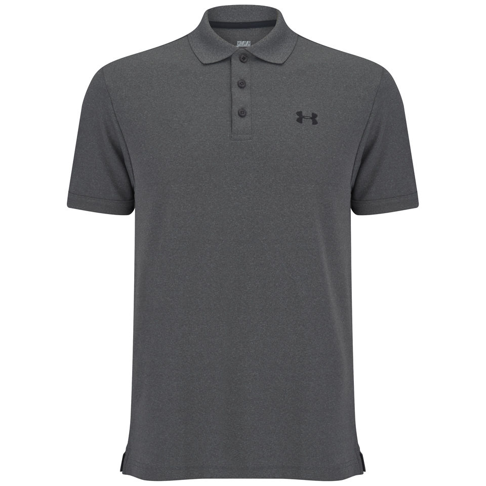 Polo Homme Performance 2.0 Under Armour - Gris / Noir