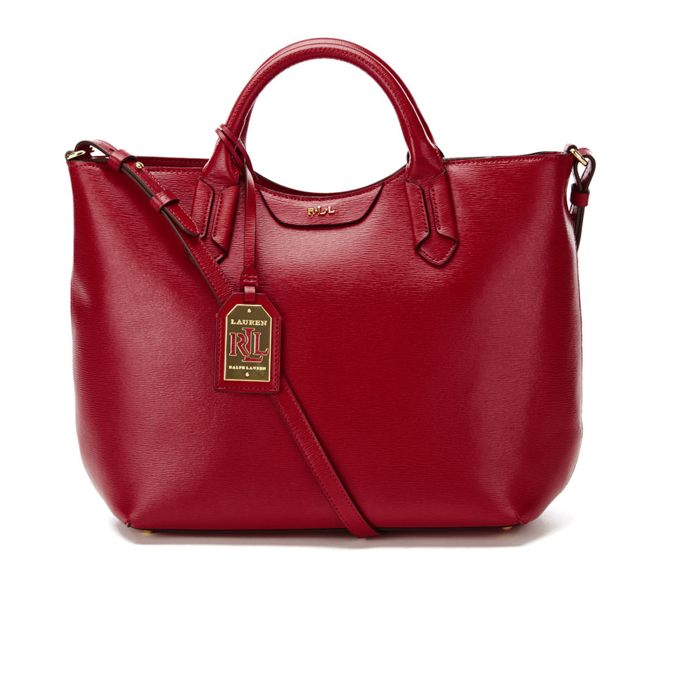 fb720860 Lauren Ralph Lauren Women's Tate Convertible Tote Bag - Red