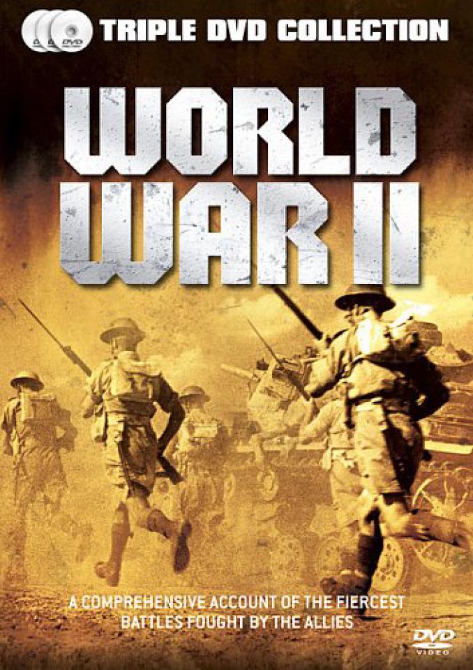 World War Ii Dvd Zavvi