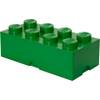 LEGO Storage Brick 8 - Dark Green: Image 1