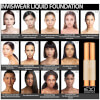 EX1 Cosmetics Invisiwear Liquid Foundation 30ml (Various Shades): Image 3