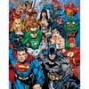 DC Comics Cast - Mini Poster - 40 x 50cm: Image 1