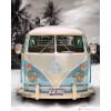 VW Californian Camper Beach - Mini Poster - 40 x 50cm: Image 1