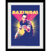 The Big Bang Theory Bazinga - 30x40 Collector Prints: Image 1