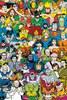 DC Comics Retro Cast - Maxi Poster - 61 x 91.5cm: Image 1