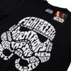Star Wars Men's Stormtrooper Text Head T-Shirt - Black: Image 2