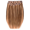 Extensiones de cabello Deluxe Clip-In de 45,7 cm de Beauty Works - Rubio Tanned 14/10/16: Image 2
