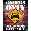 Gamers Only Controller Keep Out - 16 x 20 Inches Mini Poster: Image 1
