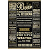 Drinking Quotes - 24 x 36 Inches Maxi Poster: Image 1