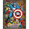 Marvel Comics Captain America Retro - 16 x 20 Inches Mini Poster: Image 1