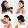 T3 Fjærlett Mini Compact Hair Dryer - Black: Image 2