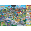 The Simpsons Locations - 24 x 36 Inches Maxi Poster: Image 1
