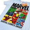 Marvel Men's Gridlock T-Shirt - Sky Blue: Image 2