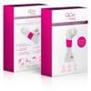 Glow SkinWorks Sonic Facial Cleansing Brush - Pink: Image 2