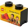 LEGO Storage Brick 2- Black: Image 2