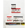 LEGO Mini Figure Display (8 Minifigures) - Black: Image 3