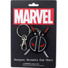 Marvel Deadpool Logo Bendable Key Chain: Image 1