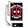 Marvel Deadpool Merc With A Mouth Chain Wallet: Image 1
