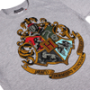 Harry Potter Men's Hogwarts Crest T-Shirt - Sport Grey: Image 3