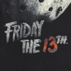 Friday the 13th Men's Jason Mask T-Shirt - Black: Image 5