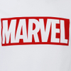 Marvel Comics Men's Core Logo T-Shirt - White: Image 3