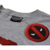 Marvel Men's Deadpool Marvel Deadpool T-Shirtports Grey: Image 3