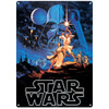 Star Wars A New Hope Large Tin Sign (29.7cm x 42cm): Image 1