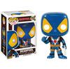 Marvel Deadpool Thumbs Up Blue X-Men Exclusive Pop! Vinyl Figure: Image 1