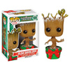 Guardians of the Galaxy Limited Edition Snowy Metallic Holiday Baby Groot Pop! Vinyl Figure: Image 1