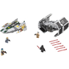 LEGO Star Wars: Vader's TIE Advanced vs. A-Wing Starfighter (75150): Image 2