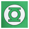 DC Comics Men's Green Lantern Men's Logo T-Shirt - Green: Image 3