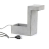 Concrete Desk Blok Lamp: Image 5