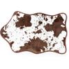Cowhide Bath Rug - Brown: Image 2