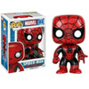 Spider-Man Red and Black Pop Vinyl Figure: Image 1