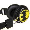Batman Classic The Dark Knight Folding On-Ear Headphones - Yellow Logo: Image 2
