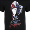 DC Comics Men's Suicide Squad Harley Quinn Daddy's Lil Monster T-Shirt - Black: Image 3