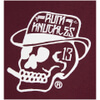 Rum Knuckles Men's Classic Logo T-Shirt - Burgundy: Image 3