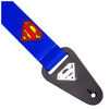 Superman Logo Fabric Guitar Strap: Image 2