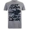 Hot Tuna Men's Palm Graphic T-Shirt - Grey Marl: Image 1