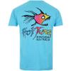 Hot Tuna Men's Rainbow T-Shirt - Atoli Blue: Image 2
