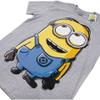 Minions Men's Dave T-Shirt - Grey Marl: Image 2
