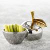 Apple Trinket Pot - Stainless Steel: Image 1