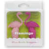 Flamingo Bottle Stopper (Set of 2): Image 1