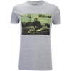 Boys In The Hood Men's Photo T-Shirt - Grey Marl: Image 1