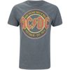 AC/DC Men's Est 73 T-Shirt - Dark Heather: Image 1