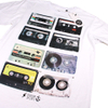 Cotton Soul Men's Retro Tapes T-Shirt - White: Image 2