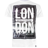 Cotton Soul Men's London Underground T-Shirt - White: Image 1