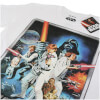 Star Wars Men's New Hope Poster T-Shirt - White: Image 3
